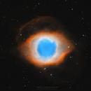 Helix Nebula with Esprit 80mm APO in HOO,                                Prabhu S Kutti