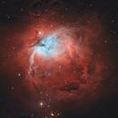 M42 Bi-color Ha-OIII,                                Serge Caballero