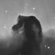 Horsehead, Short exposures in Ha,                                Romain Chauvet