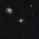 M99 - NGC4298 - NGC4302,                                vi100