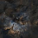 NGC 6823 & NGC 6820,                                Drew Lanphere