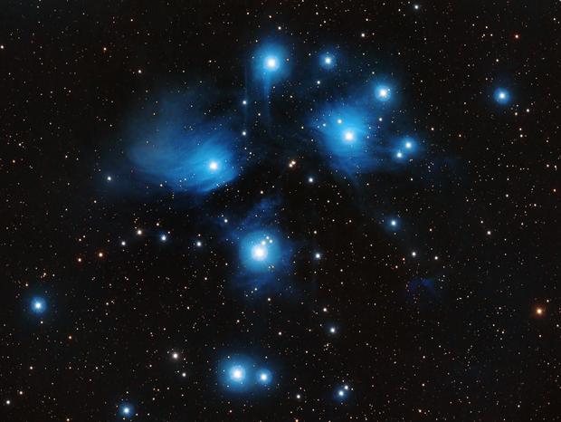 M45 The Pleiades,                                nerdybeardo