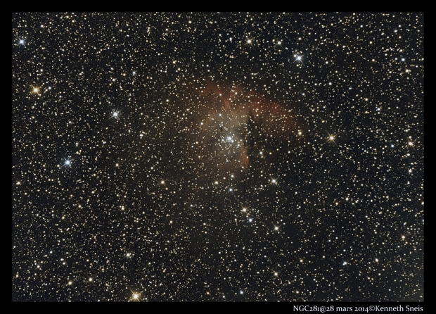 NGC281,                                Kenneth Sneis