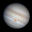 Jupiter, GRS, Ganimede Transit 2020.09.19 UT 18.12 (Elev. 24°),                                Alessandro Bianconi