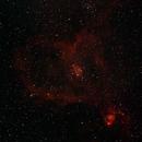 Heart Nebula 1st try,                                Michael