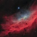 California nebula NGC1499 (Ha+Oiii) version 2,                                Connor
