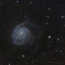 M101 - Pinwheel Galaxy,                                Brad