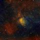 NGC 6820in SHO palette,                                Janos Barabas