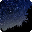 Pol Star Trails (only one shot),                                AstroEdy