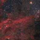 Wishing Well Cluster NGC 3532,                                Frank