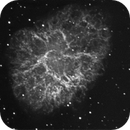 M1 First luminance - H-alpha -  test,                                federico lavarino