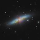 Cigar Galaxy (M82),                                Kevin Whiteside