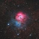M20 Trifid Nebula,                                Frank Chen