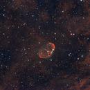 Crescent Nebula,                                goodeye
