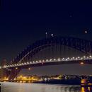Total Lunar Eclipse above Sydney Harbour Bridge,                                Peter Pat