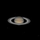 Saturne et ses lunes - 04/07/2020,                                BLANCHARD Jordan