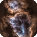 IC1848 The Soul Nebula in SHO,                                nerdybeardo