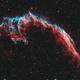 Eastern Veil Nebula (HOO),                                Wesley Creech