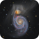 Messier 51- The Whirlpool Galaxy,                                Federico Pelliccia
