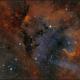 SH2-132  the Lion Nebula,                                sky-watcher (johny)