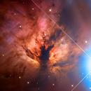 NGC2024 The Flame Nebula,                                ItalianJobs