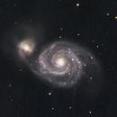 M51 LRGB,                                Blake Berge