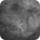 Elephant Trunk Nebula Ha,                                ks_observer