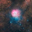 M20 - The Trifid Nebula in HaRGB,                                Matthew Sole