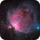 "The Orion nebula - with my ""new"" filter!,                                André"
