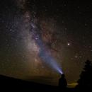 Milky Way Self Portrait from 11500',                                Jim Nadeau