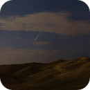 Bright Comet Behind Clouds!,                                Mohammad Nouroozi