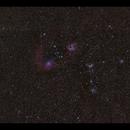 Flaming Star Nebula IC 405 & Co wide field,                                Göran Nilsson