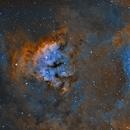 NGC 7822 SHO Hubble Pallet/Sharpless 171,                                Zach Ruder