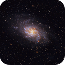 M33 Triangulum,                                Deraux LeDoux
