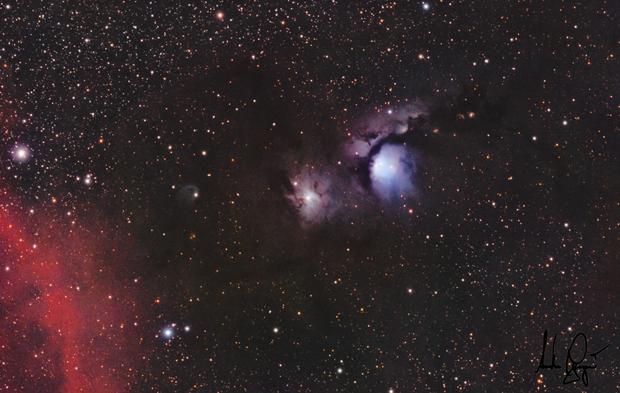 NGC2071 & M78,                                Anders Gengård