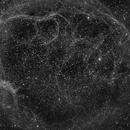 Sh2-240 Spaghetti nebula Ha,                                Frank Rauschenbach