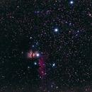Flame nebula and the neighbours,                                Dainius Pavilonis