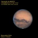 Mars opposition,                                Carlos Alberto Palhares - OBSERVATÓRIO ZÊNITE