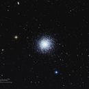 Messier 13 Globular Cluster,                                Fenton