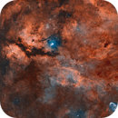 IC1318 - The blazing butterfly !,                                Axel