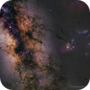 Planet Saturn Meets Galaxy Center,                                Mohammad Nouroozi