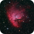 Pacman Nebula,                                Linda