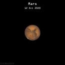 Mars near opposition, 2020,                                Patrick Hsieh
