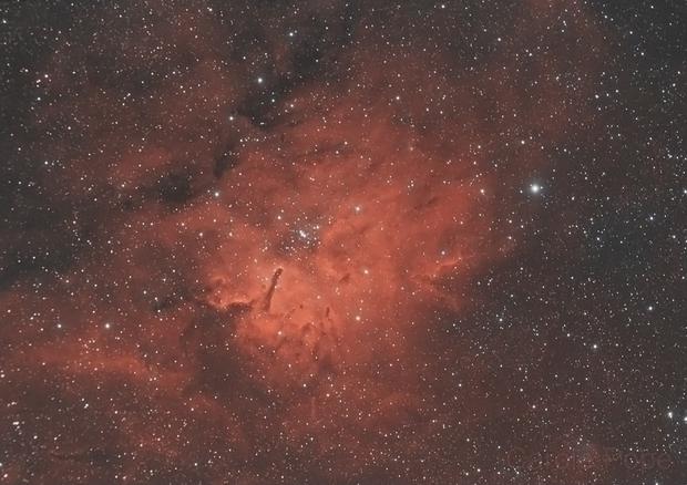 NGC6820 (HOO),                                Carastro