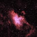 M16: The Eagle Nebula Bicolour (Ha/OIII) (2019),                                Daniel Tackley