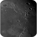 The Moon terminator from Northpole to ~14° N, ZWO ASI290MM, 20201106,                                Geert Vandenbulcke