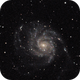 M101: The Pinwheel Galaxy (2020),                                Daniel Tackley