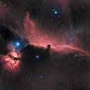 Flame and Horsehead nebula HaRGB,                                Scott Richards
