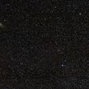 Comet Lovejoy (C/2014 Q2) and Andromeda Galaxy,                                Die Launische Diva