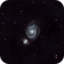 M51 with C6 Newtonian Reflector,                                Dave